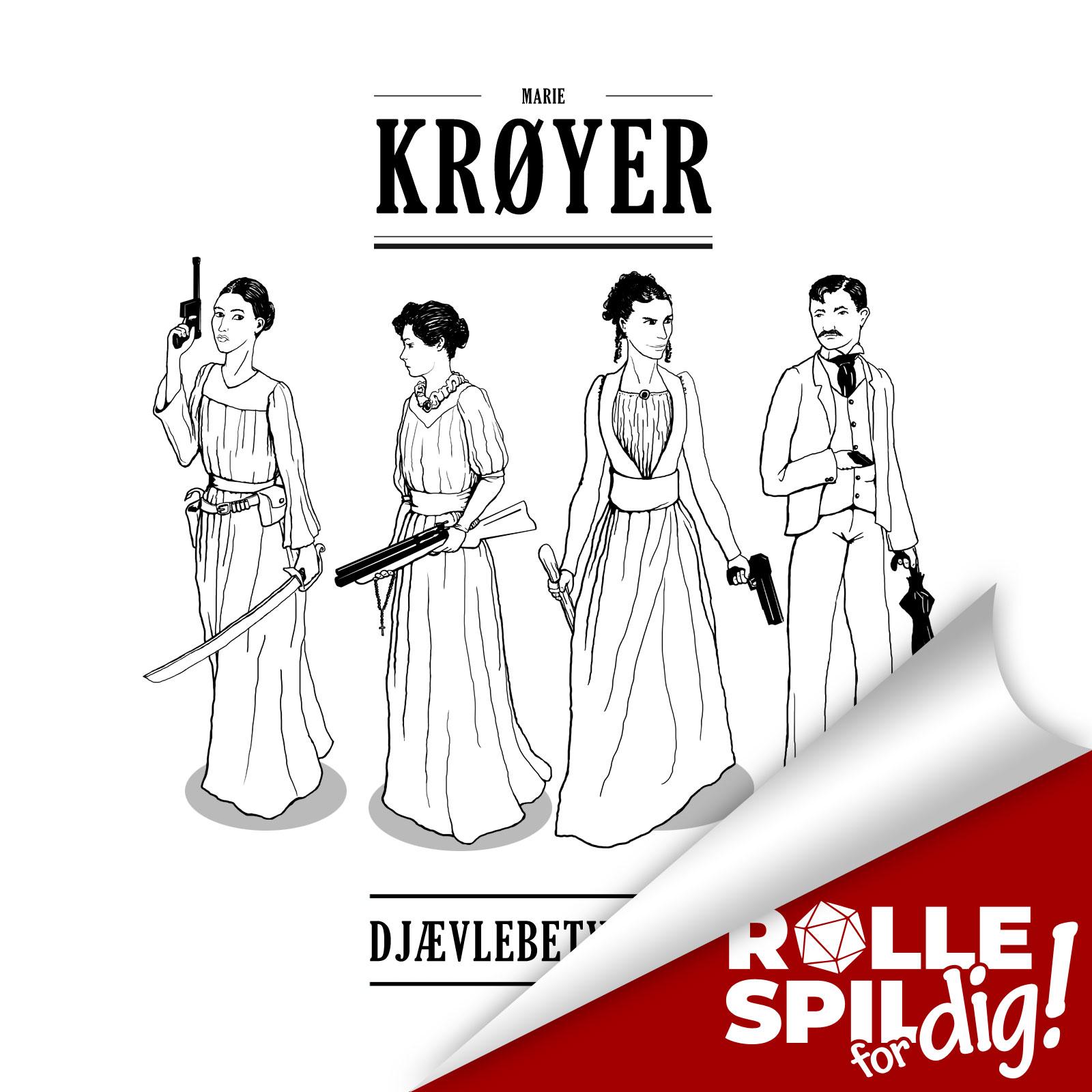 Marie Krøyer Djævlebetvinger - 3/3 - Den norske ondskab selv